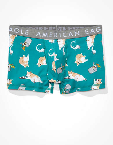 "AEO Trash Dogs 3"" Classic Trunk Underwear"