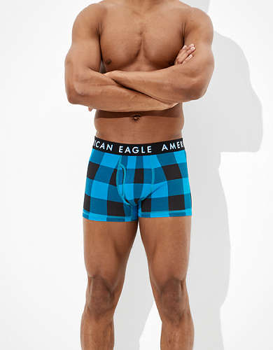 "AEO Plaid 3"" Classic Trunk Underwear"