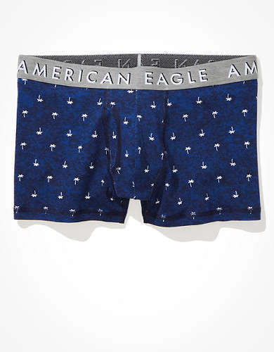 "AEO Tiny Palms 3"" Classic Trunk Underwear"