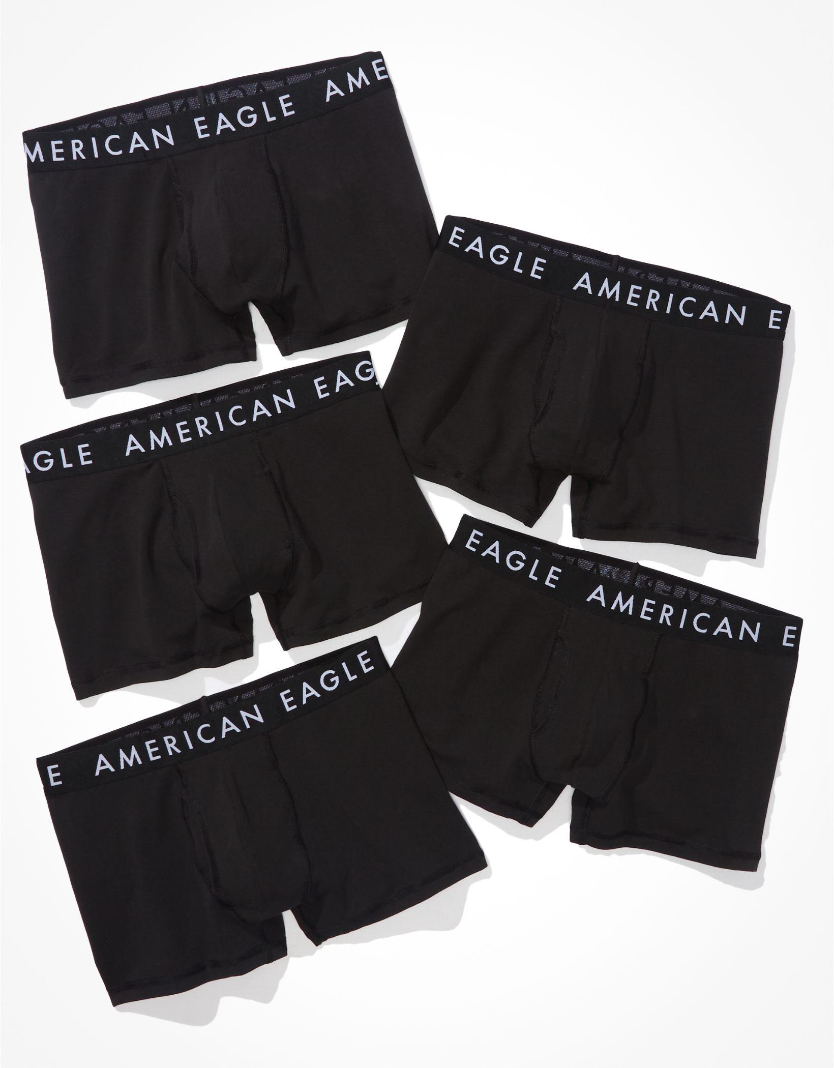 """AEO 3"""" Classic Trunk Underwear 5-Pack"""