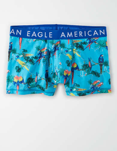 "AEO Jungle Birds 3"" Classic Trunk Underwear"