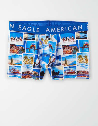 "AEO Photo Collage 3"" Classic Trunk Underwear"