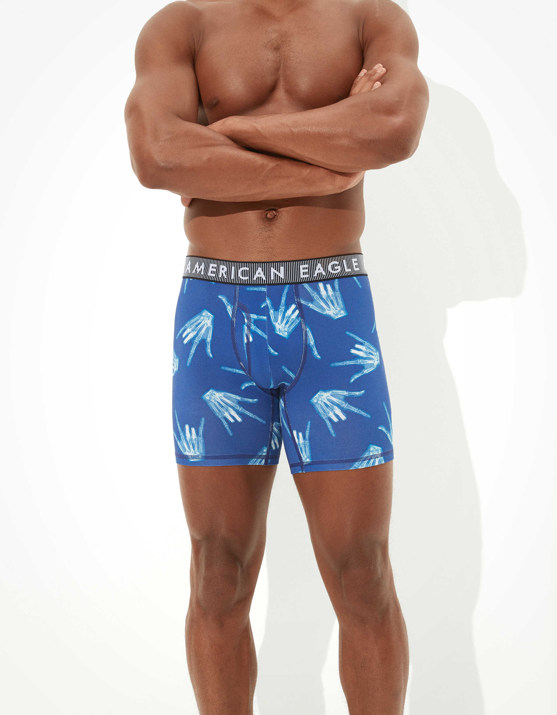 "AEO X-Ray Hand 6"" Classic Boxer Brief"