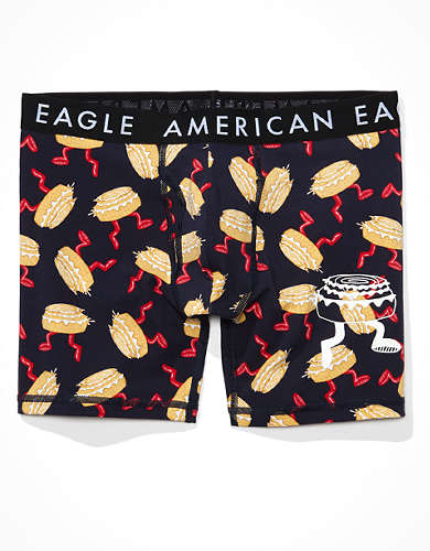 "AEO Scented Cinnabons 6"" Classic Boxer Brief"