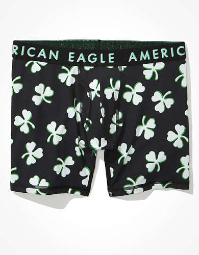 "AEO Shadow Clovers 6"" Classic Boxer Brief"