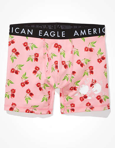 "AEO Cherry Scented 6"" Classic Boxer Brief"
