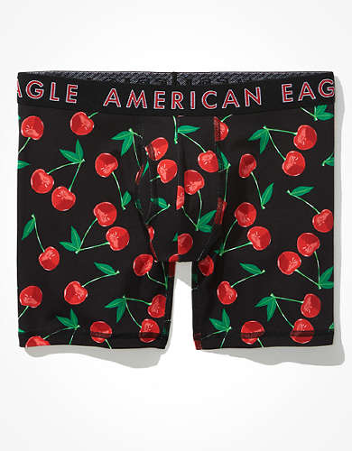 "AEO Cherries 6"" Classic Boxer Brief"