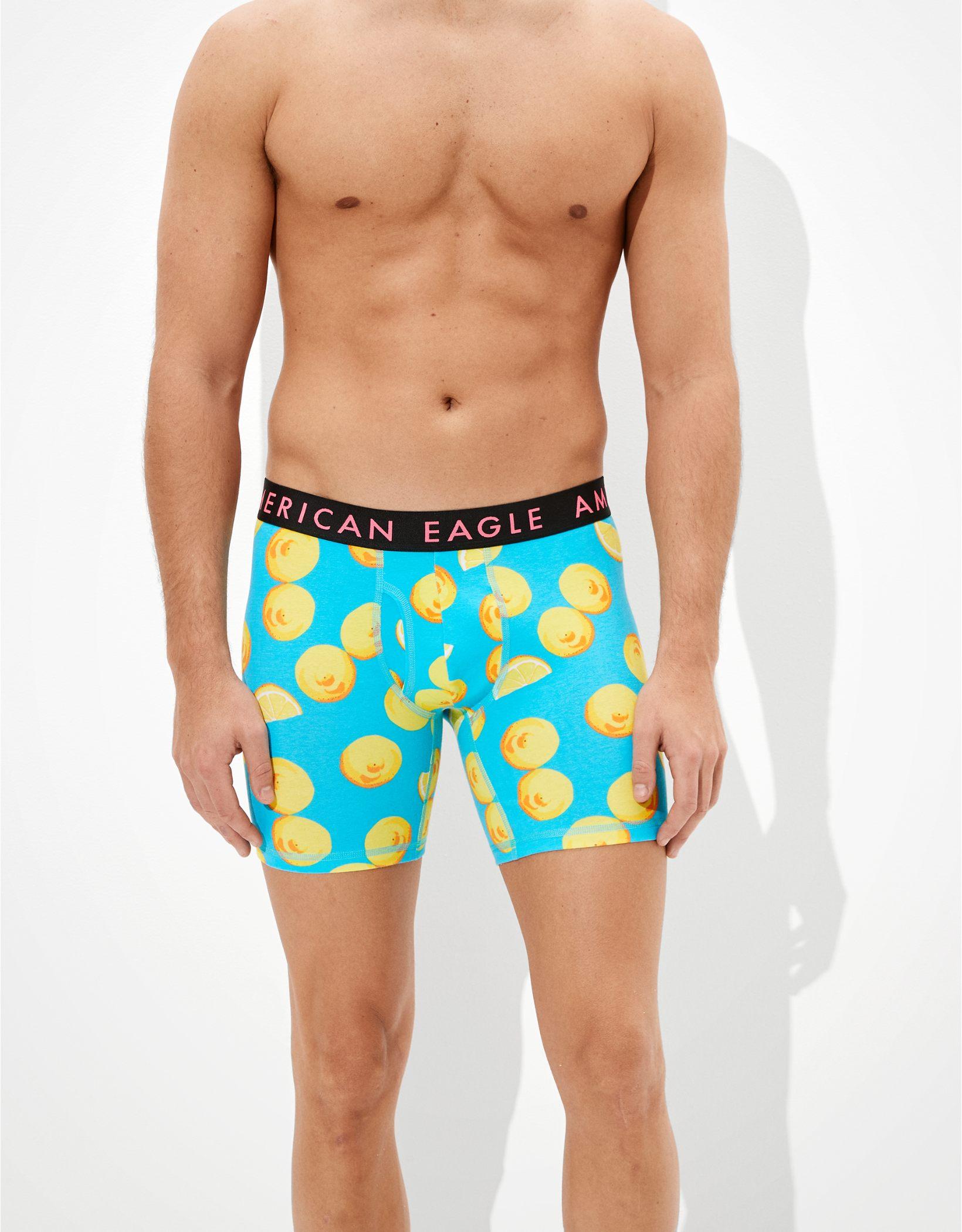 "AEO Lemons 6"" Classic Boxer Brief"