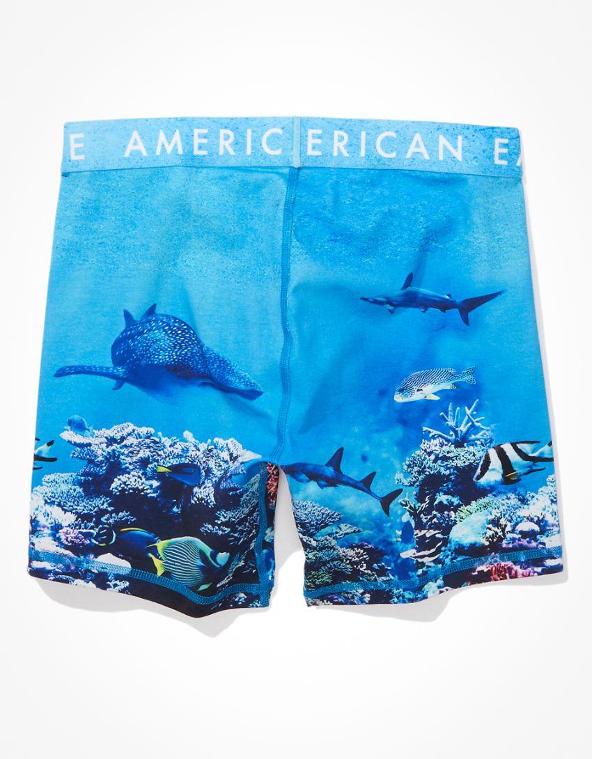 "AEO Coral Reef 6"" Classic Boxer Brief"