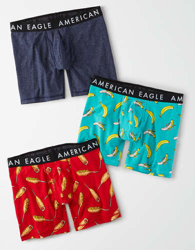 "AEO 6"" Classic Boxer Briefs 3-Pack"