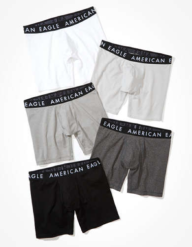 "AEO 6"" Classic Boxer Brief 5-Pack"