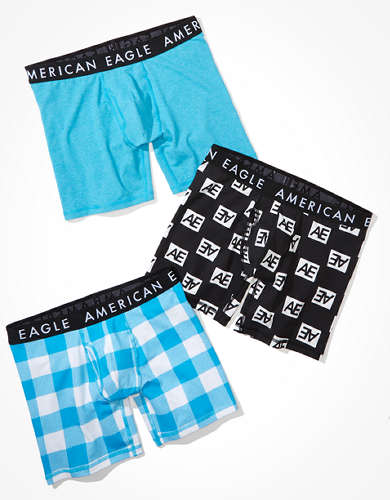 "AEO 6"" Classic Boxer Brief 3-Pack"