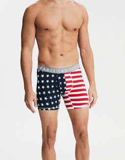 "AEO Stars & Stripes 6"" Boxer Brief"