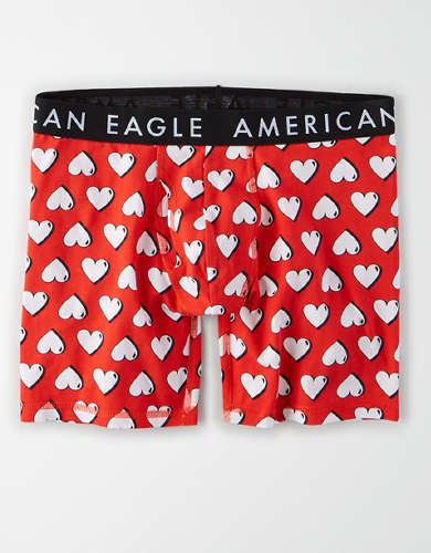 "AEO Heart 6"" Classic Boxer Brief"