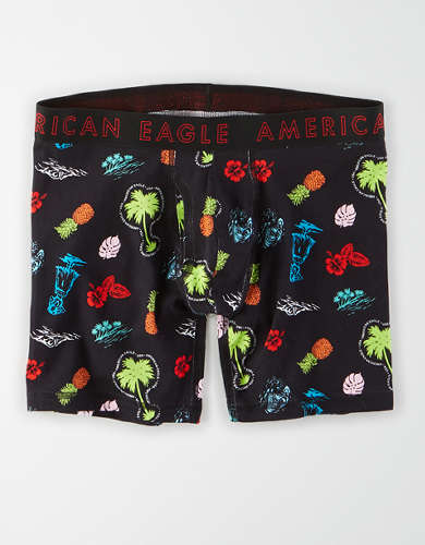 "AEO Hawaiian 6"" Classic Boxer Brief"