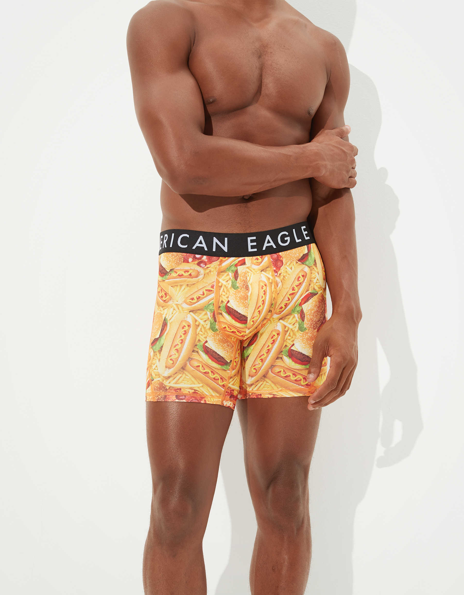 "AEO Fast Food 6"" Flex Boxer Brief"