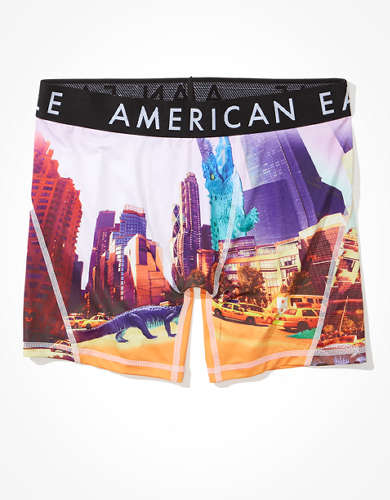 "AEO Croc City 6"" Flex Boxer Brief"