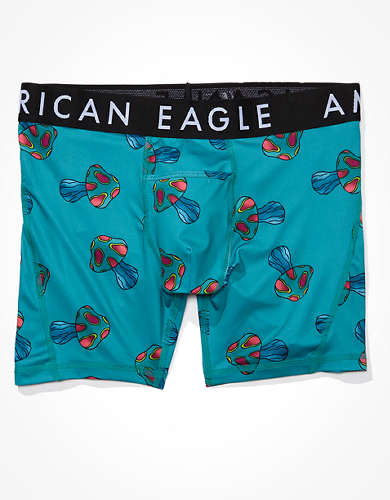 "AEO Mushrooms 6"" Horizontal Fly Flex Boxer Brief"
