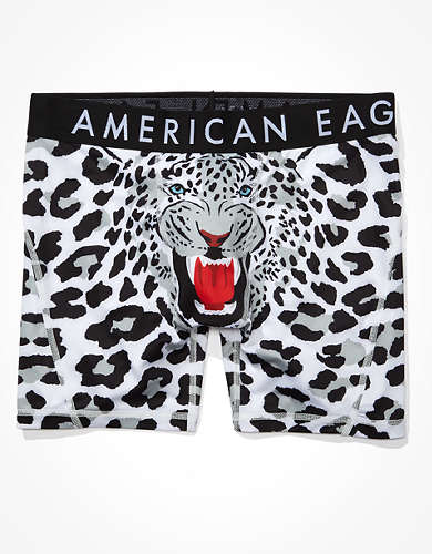 "AEO Snow Tiger 6"" Flex Boxer Brief"