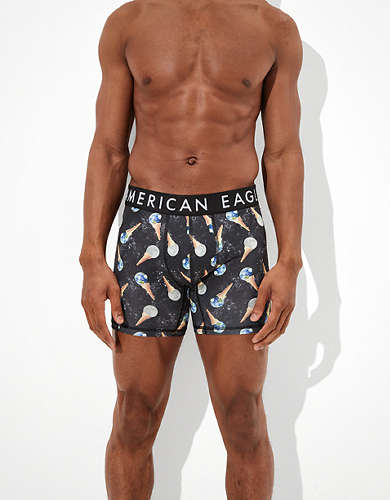 "AEO Space Cones 6"" Flex Boxer Brief"