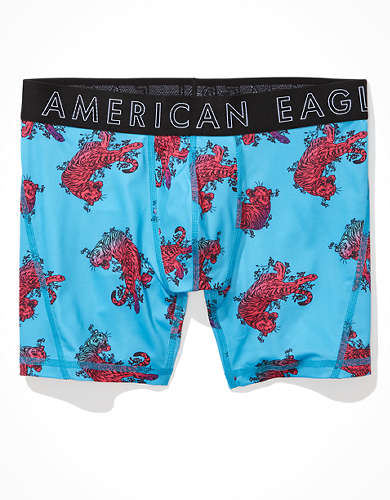 "AEO Ombre Tiger 6"" Flex Boxer Brief"