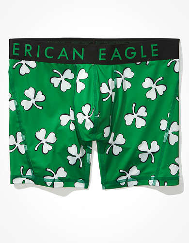 "AEO Shadow Clovers 6"" Flex Boxer Brief"