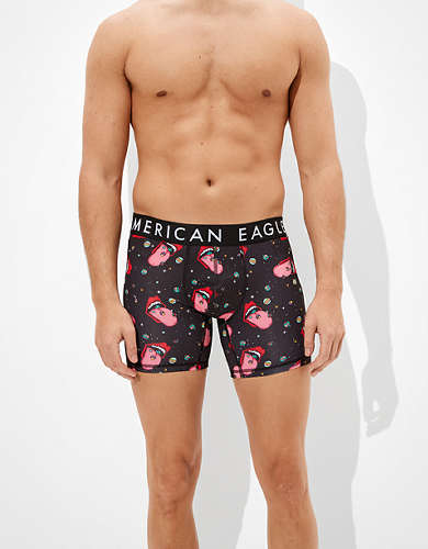 "AEO Mouth Planet 6"" Flex Boxer Brief"