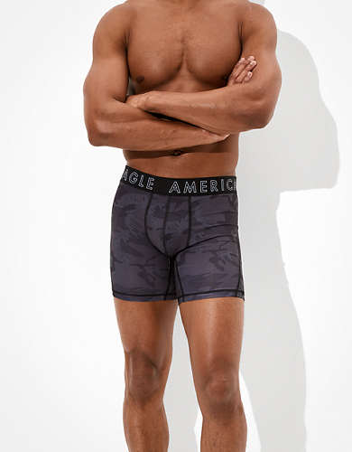 "AEO Camo 6"" Flex Boxer Brief"