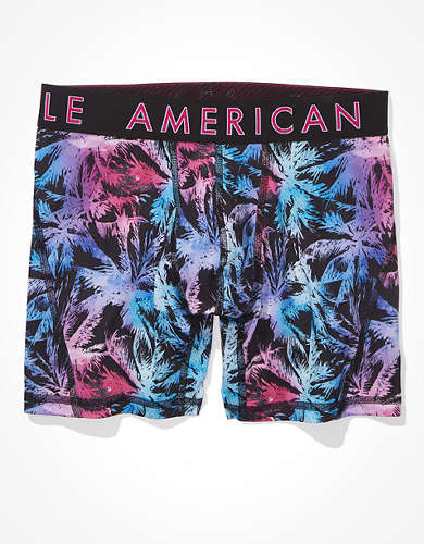 "AEO Candy Palm 6"" Flex Boxer Brief"