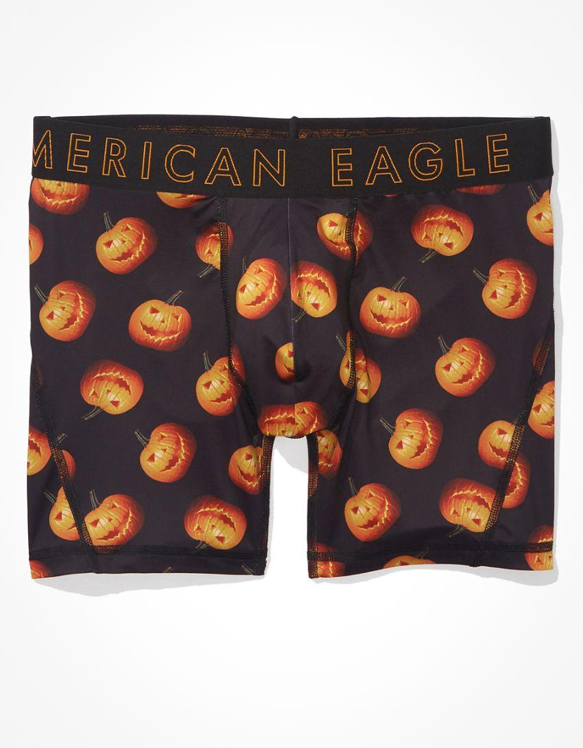 "AEO Pumpkins 6"" Flex Boxer Brief"