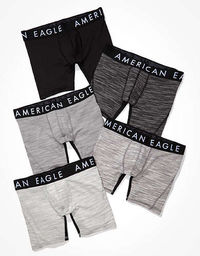 "AEO 6"" Flex Boxer Brief 5-Pack"