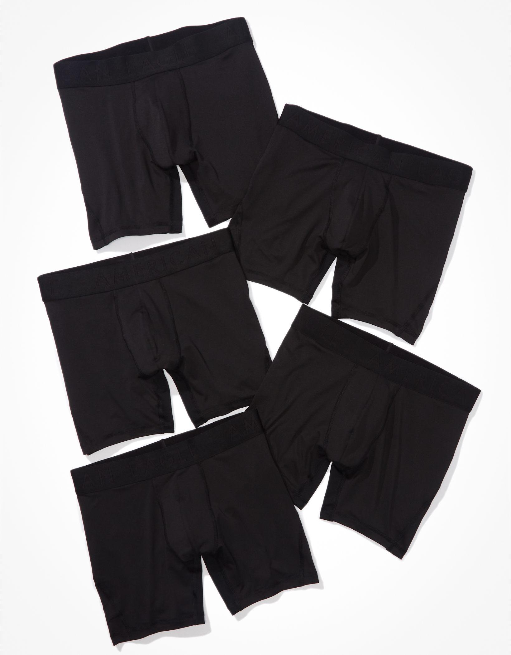 """AEO 6"""" Flex Boxer Brief 5-Pack"""