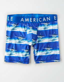 "AEO Hammer Shark 6"" Flex Boxer Brief"