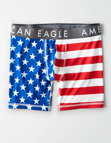 "AEO Americana 6"" Flex Boxer Brief"