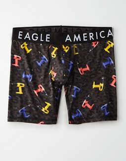 "AEO Cheetah Drill 6"" Flex Boxer Brief"
