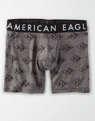 "AEO Diamond Logo 9"" Flex Boxer Brief"