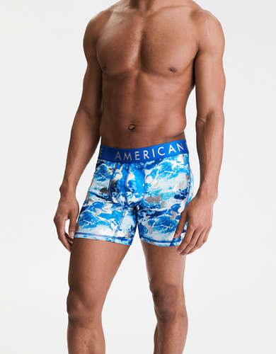 "AEO Foil Mermaids 6"" Flex Boxer Brief"