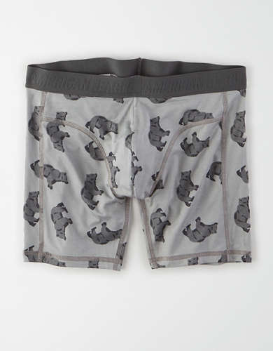 "AEO Bears Ultra Soft 6"" Boxer Brief"