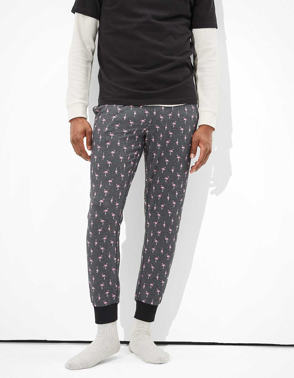 AEO Flamingo Ultra Soft Lounge Pant