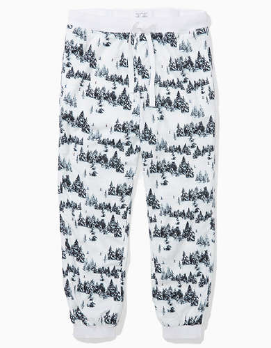 AE Winter Trees Flannel Pant