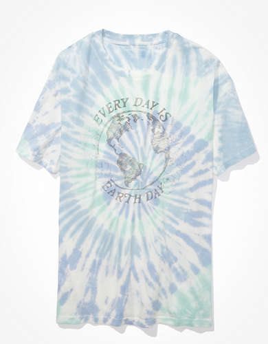 AE Oversized Earth Day Graphic T-Shirt