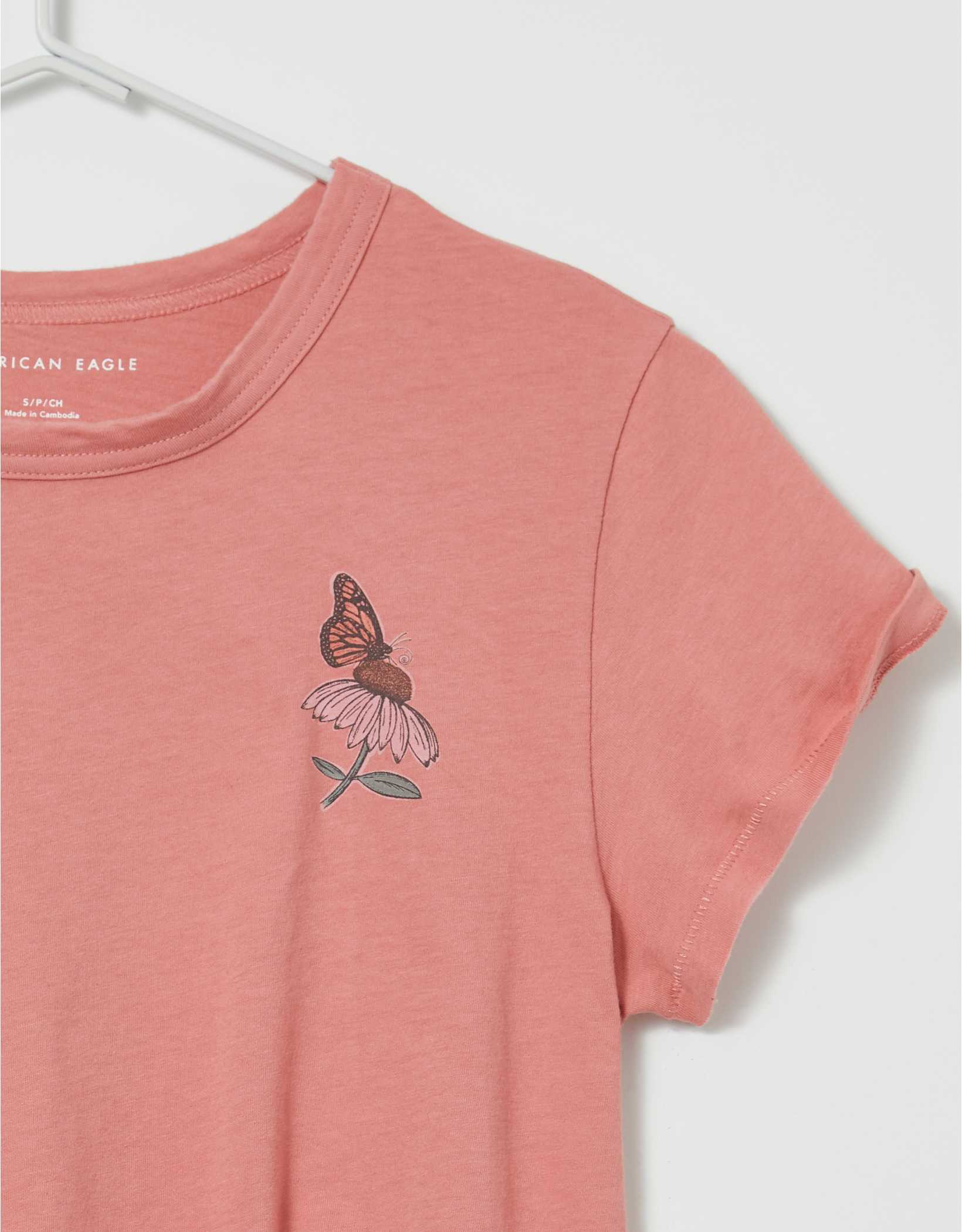AE Butterfly Graphic T-Shirt