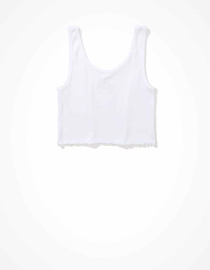 AE Cropped Graphic Tank Top
