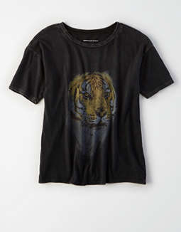 Ae Tiger Graphic Tee by American Eagle Outfitters