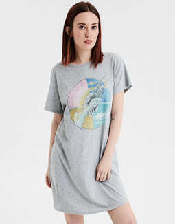 AE Pink Floyd Graphic T-Shirt Dress