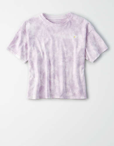 AE Tie Dye Graphic T-Shirt