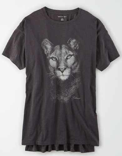 AE Oversized Animal Graphic T-Shirt