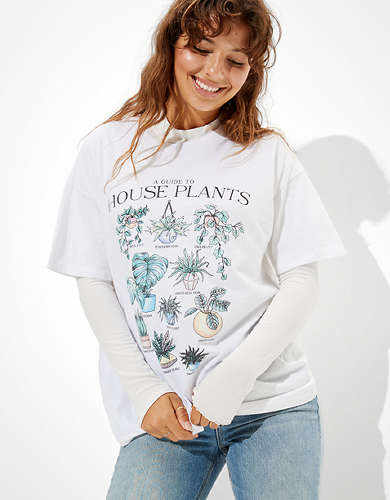 AE House Plants Graphic T-Shirt