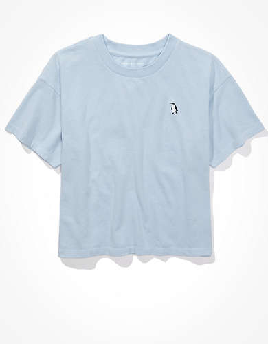AE Cropped Penguin Graphic T-Shirt
