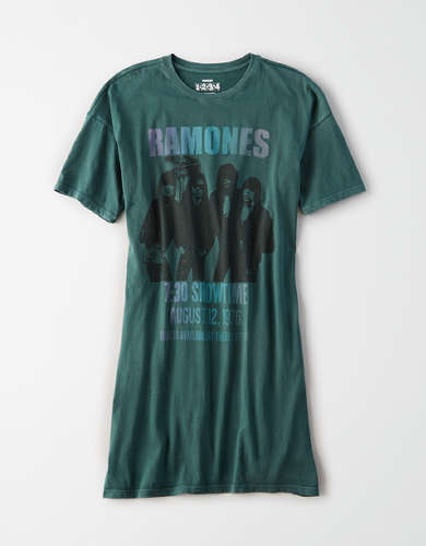 AE Ramones Graphic T-Shirt Dress